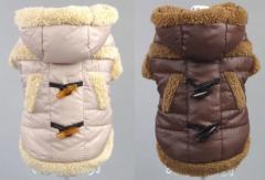Duffle Coat 裏起毛あったか ダッフルコート 防寒コート 犬服 ペット服