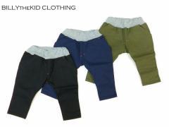 BILLYtheKID CLOTHING ビリーザキッドクロージング 子供服 8分丈ストレッチパンツ  b064005n