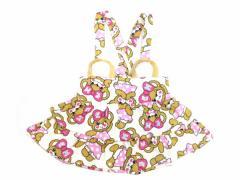 EARTHMAGIC アースマジック 子供服 17初春 マフィー柄ジャンパースカート ea37134129 マフィ
