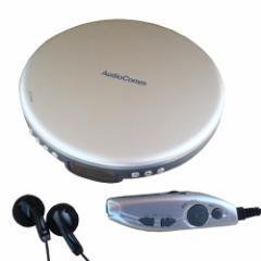 ポータブルCDプレーヤー (ホワイト) AudioComm OHM オーム電機 CDP-830Z-W