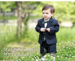 子供タキシード スーツ 男の子  ベビー フォーマル 80結婚式 発表会 七五三 入園式 入学式 卒業式 6点セット