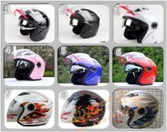 バイクヘルメット ジェット  男女共用ヘルメット 多色選択可能 春、夏、秋、冬 PSC付き YOHE-856 送料無料