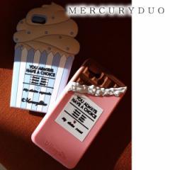 【ポイント3倍】MERCURYDUO マーキュリーデュオ 【6/6S/7対応】Capcake シリコンiPhoneケース【2017S/S】【入荷!】