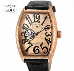 ゾンネ × ハオリ SONNE HAORI PRODUCED H005PG-JP メンズ 腕時計  自動巻き リストウォッチ 岩城滉一