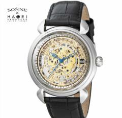 ゾンネ × ハオリ SONNE HAORI PRODUCED H009SV メンズ 腕時計  自動巻き リストウォッチ 岩城滉一