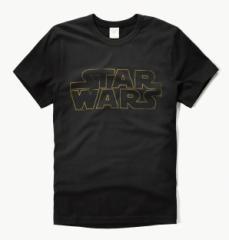 アバクロ Tシャツ 半袖 メンズ 123-1990-900black 正規 star wars abercrombie & fitch アバクロンビー&フィッチ