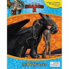 (英語版)海外書籍 「How to Train Your Dragon 2:My Busy Books(ヒックとドラゴン2 マイ ビジーブック)」 (本+ミニフィギュア)