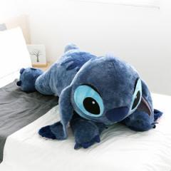 (先払いのみ)海外アニメグッズ Disney(ディズニー)Stitch(スティッチ)ライイング ジャンボ クッション ぬいぐるみ 人形(120cm)