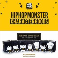 (先払いのみ) 韓国スターグッズ 防弾少年団(BTS) HIPHOP MONSTER GOODS ぬいぐるみ(7種1択)(予約 発売日:2015.12.16以後)