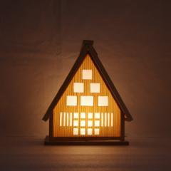『組立キットゆらぎ照明「ひだまり小」』 1/fゆらぎ照明 癒しの灯 北のらっちゃこ SKK1506HK