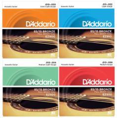 【期間限定特価】Daddario/アコースティック弦 85 15 AMERICAN BRONZE EZ【ダダリオ/EZ900・EZ910・EZ920・EZ930】【メール便OK】