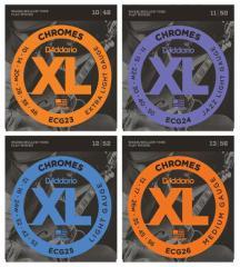 Daddario/フラットワウンド弦 XL Chromes Flat Wound 【ECG23・ECG24・ECG25・ECG26】 【ダダリオ】【メール便OK】