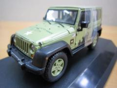 Jeep Wrangler 2012 U.S.Army ハードトップ ライトグリーン 1/43 新品 ジープミニカー