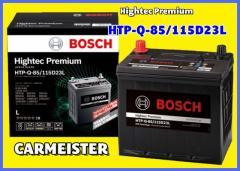 HTPQ85/115D23L BOSCH ボッシュ 国産車用 ハイテックプレミアム バッテリー