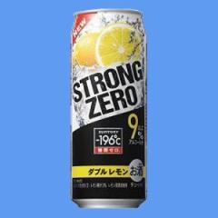 サントリー チュウハイ -196℃ ストロングゼロ ダブルレモン500mlケース(24本入り)