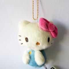 SALEKT-70BM-PK/ケイカンパニー/[Hello Kitty]ハローキティ(70年代シリーズ)ボールチェーンマスコット(ピンク)/人形/ぬいぐるみ/玩