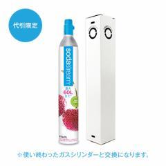 【代引限定】ソーダストリーム 専用ガスシリンダー(交換用) 炭酸水メーカー
