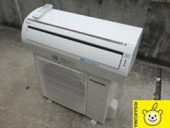 MT217▽パナソニック ルームエアコン 2010年 2.2kw 〜8畳 自動掃除