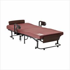 くつろぐベッド 収納式 AX-BE835■介護ベッド 折り畳みベッド 収納ベッド 自動リクライニングベッド ベット 収納