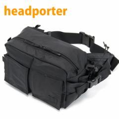 ヘッドポーター HEAD PORTER ウエストバッグ メンズ ボディバッグ ブラックビューティー ニューウエストバッグ ブラック HP-1213