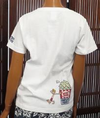 ハワイアン雑貨/ハワイ 雑貨  【SURF DAYS】半袖 Tシャツ(レディース/ホワイト) 161-SFD3201-284