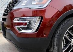 フォード エクスプローラー フロント フォグ ランプ クローム 送料無料