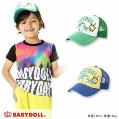 NEW♪パームツリーメッシュキャップ-雑貨 帽子 キッズ ベビードール BABYDOLL-7842