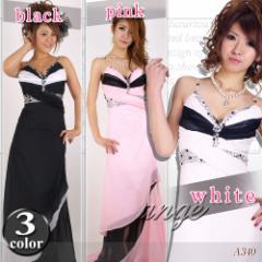 LD1208-701/キャバドレス/シフォン胸元ビジュキャミロングドレス