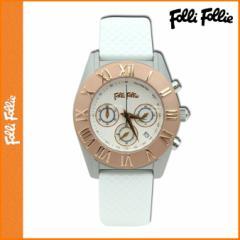 【Folli Folle】フォリフォリ 時計 WF8T006ZEZWH ラバーベルト レディース ウォッチ【並行輸入】