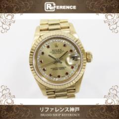 ロレックス デイトジャスト レディース腕時計 K18YG 79178LR K番