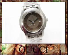 ★グッチ レディース腕時計 クオーツ(電池式) 5500L★
