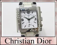 ★ディオール リヴァ スパークリング クロノグラフ レディース腕時計★