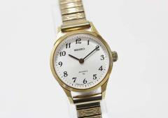 セイコー レディース腕時計 24石 手巻き アラビアインデックス