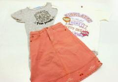 ★キッズ服 ワンピース Tシャツ スカート 3点セット★