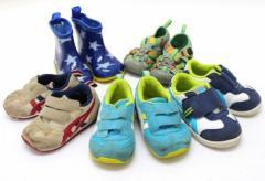 あす着 ベビー靴 スニーカー 長靴 サンダル 5点セット ギフト プレゼント キッズ
