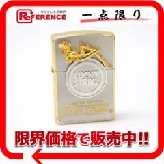 《あす着》 ZIPPO ジッポー ジッポーライター zippo ライター 喫煙具 プレゼント ギフト メンズ  1995年 LUCKY STRIKE LIMITED EDITION