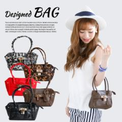 【メール便送料無料】 バッグ レディース ショルダー 2way プチプラ Lulu&berry デザインバッグ ハンドバッグ (ar-MD5m)