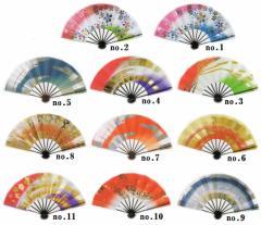 【京都/呉服/着物の格安セール】舞扇/日本舞踊/扇子 10種類