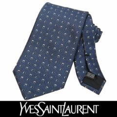 Yves Saint Laurent イヴサンローラン ネクタイ 新柄 シルク メンズ 紳士 ビジネス フランス製 (30)