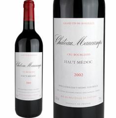シャトー・モーカン 2002年(Chateau Maucamps) 【飲み頃熟成】【赤ワイン/フルボディ/フランス/ボルドー】