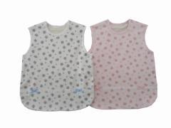 Pample Mousse(パンプルムース) 日本製 春物 新生児 女の子 花プリント接結 スリーパー 50〜70