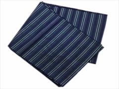 子供キッズ男の子浴衣&着物に 簡単ふわっふわ兵児帯青紺ライン