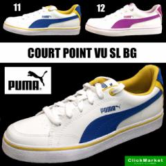 プーマ PUMA COURT POINT VU SL BG 357679 11 12 ...