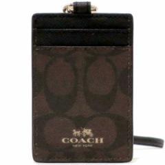 コーチ カードケース COACH アウトレット  ペイトン シグネチャー ランヤード IDケース / カードケース  F63274 IMAA8