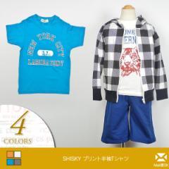 SHISKY(シスキー) プリント半袖Tシャツ [キッズ/子供服] (n24) [メール便OK] 104015