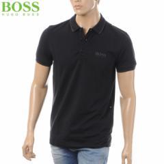 BOSS HUGO BOSS GREEN ボス ヒューゴボス ポロシャツ メンズ ブラック 50310307