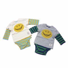 F.O.KIDS エフオーキッズ 子供服 17春 ベビー スマイルレイヤードボディシャツ for134017