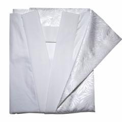日本製 胴抜き長襦袢 仕立て上がり 半衿付き 抜衿布、腰紐付(えもん抜き)