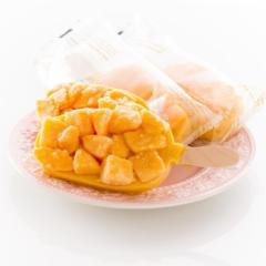 "(^o^)果汁ぎゅっ【新生活】!色合い鮮やか""リッチ果実バー(マンゴー)8本入/食品/送料無料(fruits-bar-ma)"