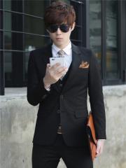 スーツ メンズ  ビジネススーツ メンズスーツ 3点セット 紳士服 スーツ・フォーマル メンズファッション 長袖【送料無料】 WV182